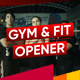 Fitness and Workout | Gym Opener | Sport Promo | Dynamic Slideshow - VideoHive Item for Sale