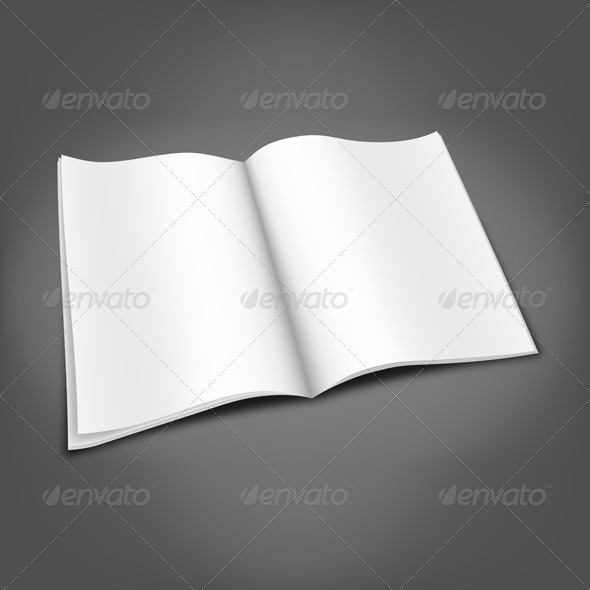 Magazine Mockup - Miscellaneous Vectors