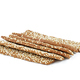 Homemade sesame cookies isolated on white background - PhotoDune Item for Sale