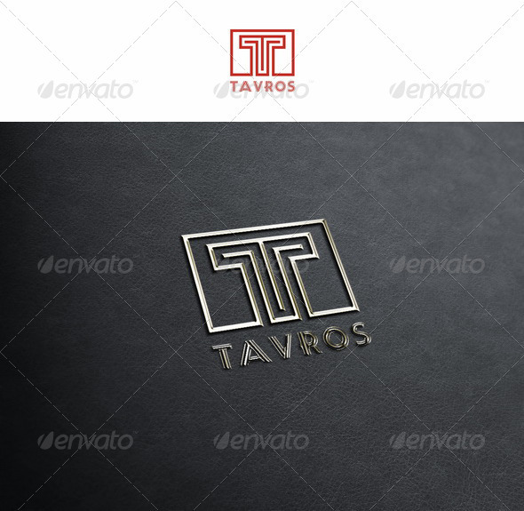 T Logo Letter - Tavros - Letters Logo Templates