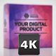 Digital Product Package Mockup - VideoHive Item for Sale