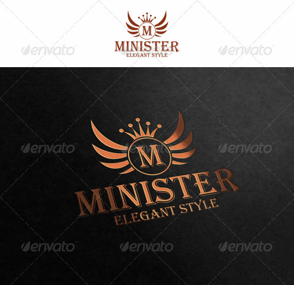 Royal Crest Logo - Minister - Crests Logo Templates
