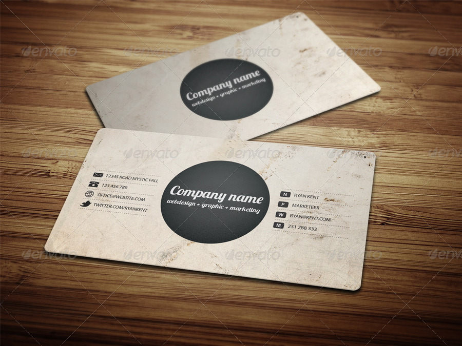 Three Different Style Business Card by Dutchflow | GraphicRiver