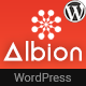 Free Download Albion - Machine Learning & AI WordPress Theme Nulled
