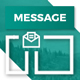 Free Download Message - Responsive Multi-Purpose Email Templates + Robust Editor Nulled