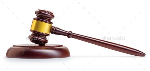 Judge's gavel - Stock Photo - Images