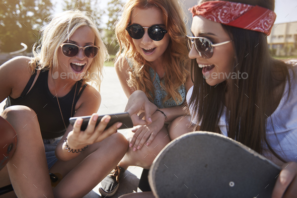 Look for new trick on skateboard - Stock Photo - Images