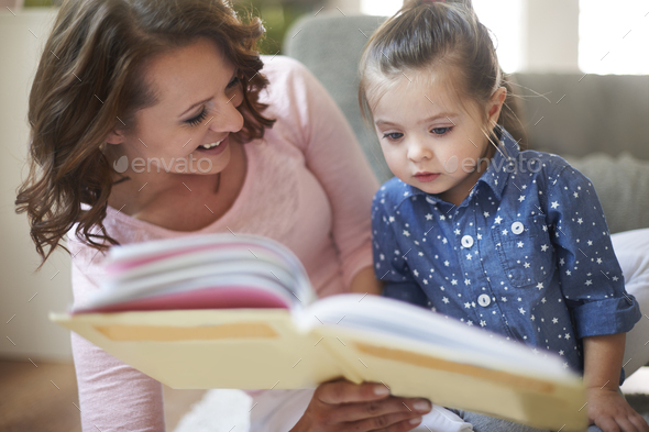 Look! This is little princess, like you! - Stock Photo - Images