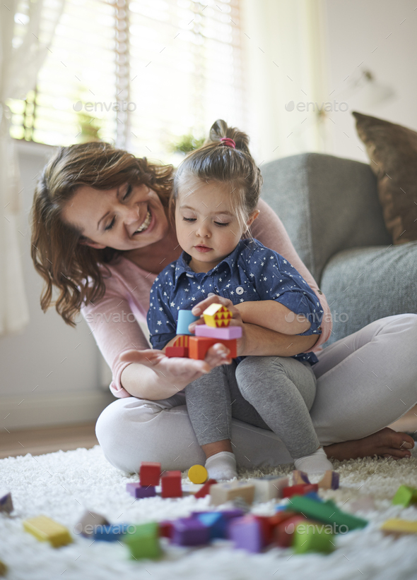 Maybe we're building home for dolls - Stock Photo - Images