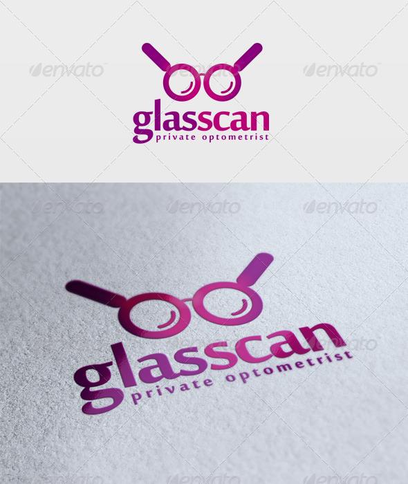 Glas Scan Logo - Objects Logo Templates