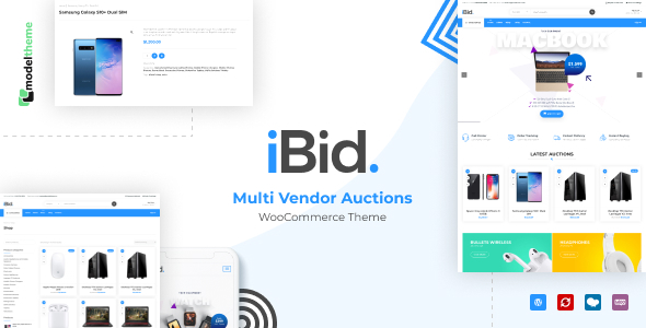 Download iBid - Multi Vendor Auctions WooCommerce Theme v1.1.2 nulled