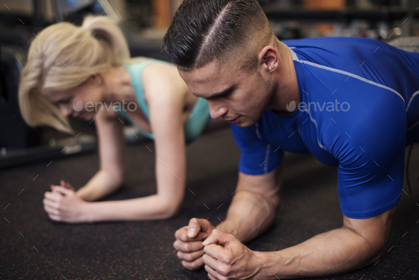Couple having a common passion - Stock Photo - Images
