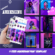 Free Download Aubergine Instagram Fashion Feed Ads Nulled