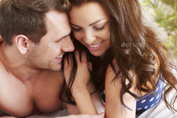 It nice to wake up next to you - Stock Photo - Images