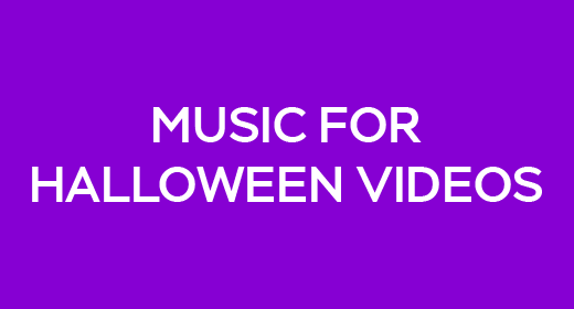 Music For Halloween Videos