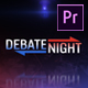 Debate Night Elements | MOGRT for Premiere Pro - VideoHive Item for Sale