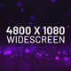Purple Falling Particles Widescreen - VideoHive Item for Sale