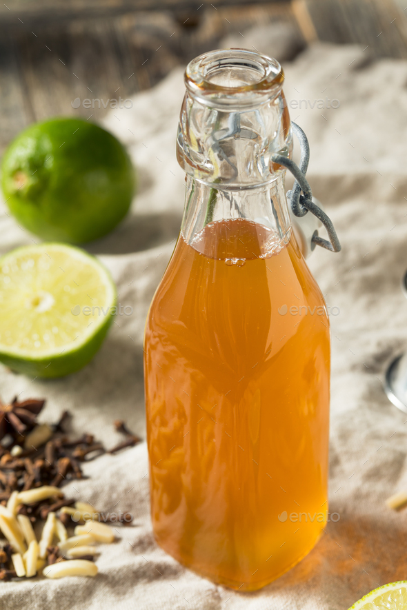 Homemade Falernum Cocktail Syrup - Stock Photo - Images