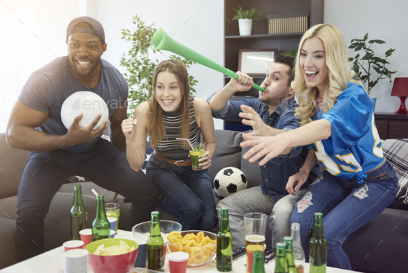 Important gadgets during the match - Stock Photo - Images