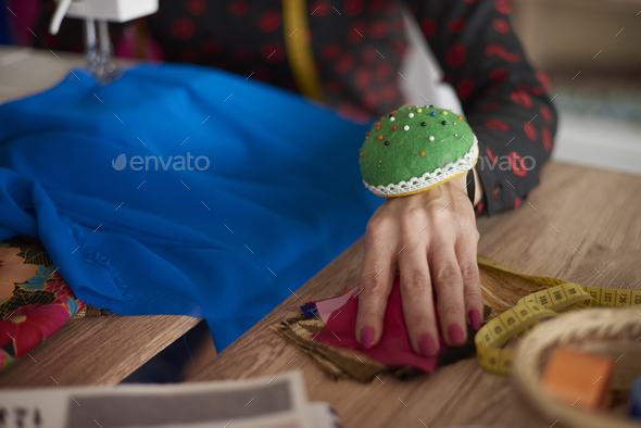 Accessories of a professional tailor - Stock Photo - Images