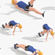 Exercise Animations Bundle Woman