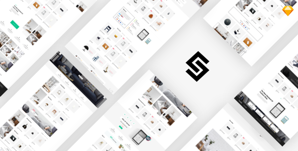 Furnikit - eCommerce Sketch Template