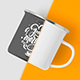 Free Download Enamel Mug Mock-up Nulled