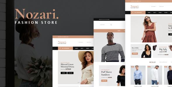 Nozari - Fashion Store HTML Template