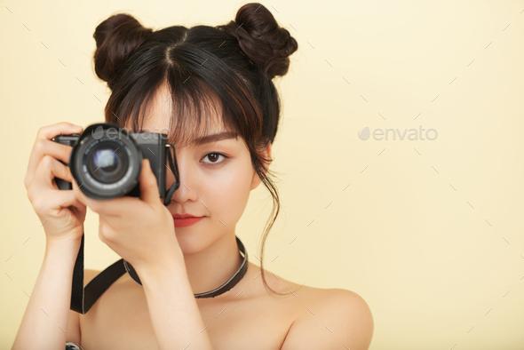 Creative photographer - Stock Photo - Images