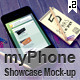myPhone Showcase Mock-up V.2 - GraphicRiver Item for Sale