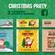 Free Download Christmas Party Facebook Cover & Banner Nulled