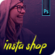 Free Download Instagram Shop Template Nulled