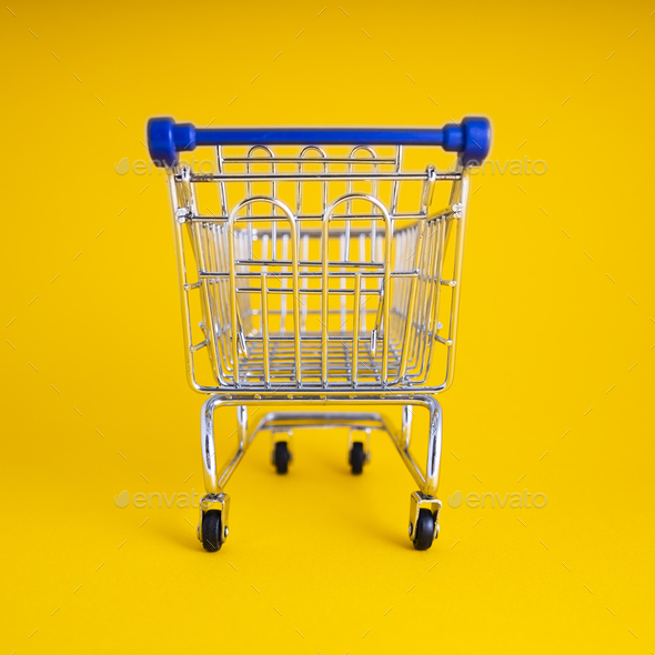 Empty Shopping Сart - Stock Photo - Images