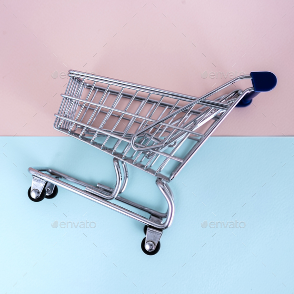 Empty Shopping Сart - Stock Photo - Images