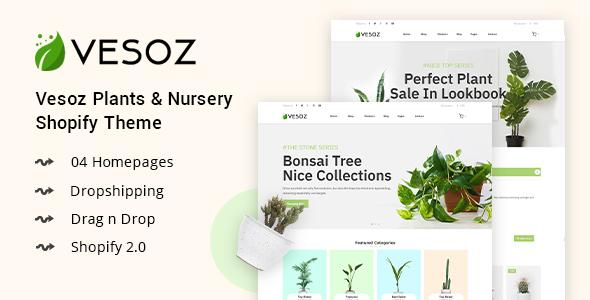 Plants And Nursery Ify Theme