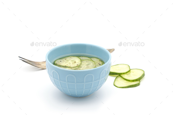 Simple Pickled Cucumber - Stock Photo - Images