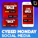 Free Download Cyber Monday Social Media Pack Nulled