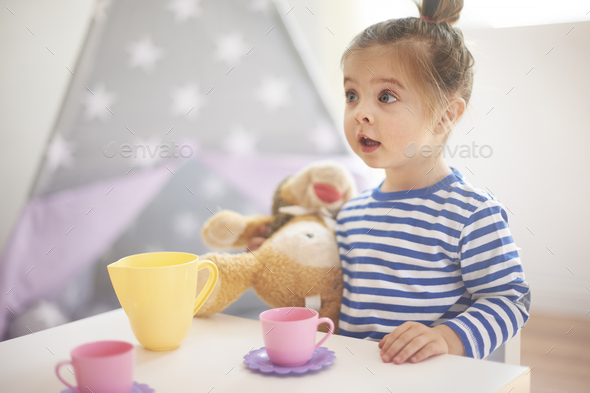 Who drank my coffee? My cup is empty! - Stock Photo - Images