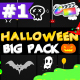 Halloween Party Elements And Titles | FCPX