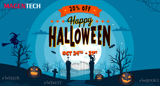 Spooky Savings - Up to 20% OFF on Best-selling Magento Themes