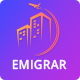 Free Download Emigrar - Creative Travel Agency HTML Template Nulled