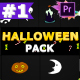 Halloween Elements | Premiere Pro MoGRT - VideoHive Item for Sale