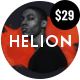 Free Download Helion | Personal Creative Portfolio WordPress Theme + Store Nulled