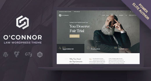 Best Law & Lawyer WordPress Themes