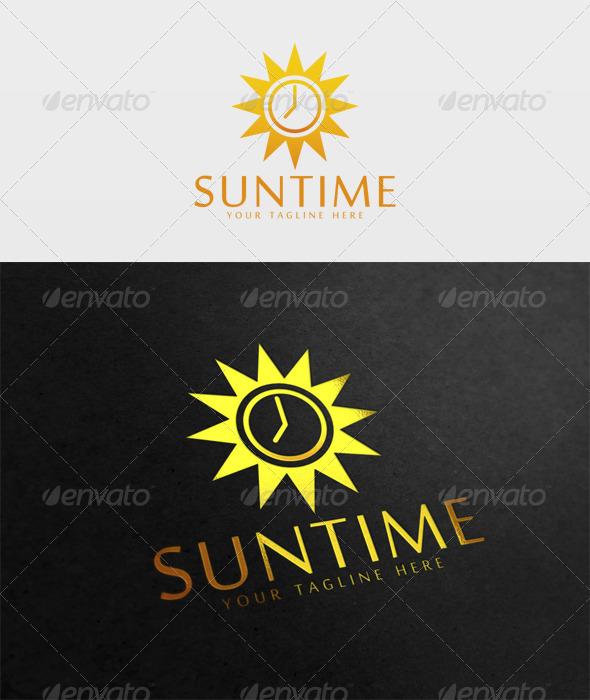 Sun Time Logo - Symbols Logo Templates