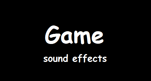 Game Sound Effects