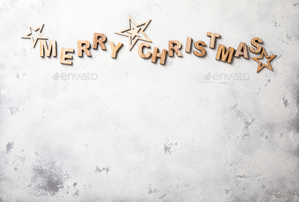 Merry Christmas. Holiday card - Stock Photo - Images