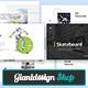 Free Download Skateboard Google Slides Presentation Template Nulled