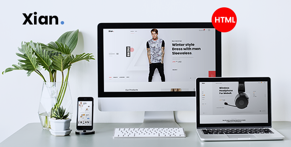 Xian - Multipurpose e-Commerce HTML Template by themesflat