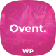 Free Download Ovent - Event Conference WordPress Theme Nulled
